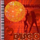 De clubachtergrond van de disco Stock Foto