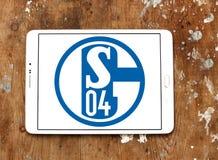 De clubembleem van het FC Schalke 04voetbal Royalty-vrije Stock Afbeelding