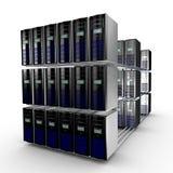 De cluster van de computer Stock Afbeeldingen