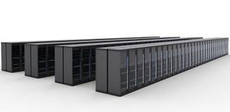 De cluster van de servercomputer Royalty-vrije Stock Foto's
