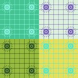 De Coördinerende Vierkanten van de kleur Royalty-vrije Stock Afbeelding