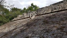 De Coba-ruïnes Royalty-vrije Stock Afbeelding