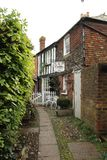 De Cobbles Theeruimte in Rogge East Sussex, Engeland royalty-vrije stock fotografie