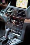 De Cockpit van Benz van Merzedes Royalty-vrije Stock Foto