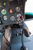 De cockpit van de helikopter Stock Afbeelding