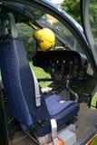 De cockpit van de helikopter Royalty-vrije Stock Fotografie