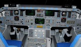 De cockpit van de ruimtependel Stock Fotografie