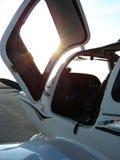 De cockpit van het vliegtuig Royalty-vrije Stock Foto's