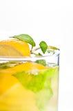 De cocktail dichte omhooggaand van Mojito Stock Foto's