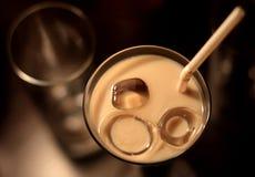De cocktail in een glas Stock Foto's