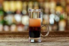 De cocktail schoot multilayered royalty-vrije stock foto