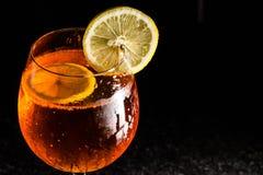 De Cocktail van Aperolspritz Royalty-vrije Stock Afbeelding