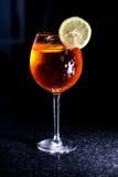 De Cocktail van Aperolspritz Stock Afbeelding
