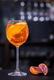 De Cocktail van Aperolspritz Royalty-vrije Stock Foto