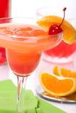 De cocktail van Campari Stock Fotografie