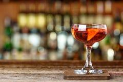 De cocktail van clubgr Presidente stock afbeeldingen