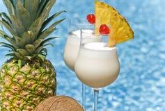 De Cocktail van Colada van Pina Stock Afbeelding
