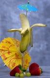 De Cocktail van de banaan royalty-vrije stock afbeeldingen