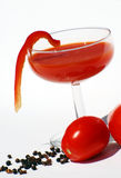 De Cocktail van de bloody mary Stock Foto
