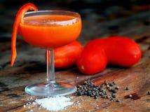 De Cocktail van de bloody mary Stock Afbeeldingen