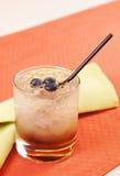 De cocktail van de braambes stock fotografie