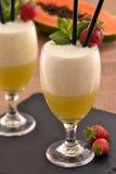 De cocktail van de fruitstempel stock afbeeldingen