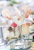 De Cocktail van de garnaal Royalty-vrije Stock Afbeeldingen