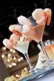 De Cocktail van de garnaal Stock Afbeelding