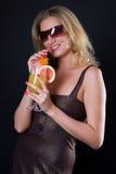 De cocktail van de glamour Royalty-vrije Stock Foto's