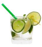 De cocktail van de kalk Stock Foto