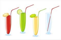 De cocktail van de kleur Stock Afbeelding