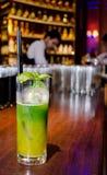 De Cocktail van de mangomunt Stock Foto