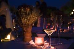 De cocktail van de nacht Stock Foto