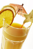 De cocktail van de orang-oetan Stock Afbeeldingen