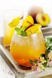 De cocktail van de perzik Royalty-vrije Stock Fotografie