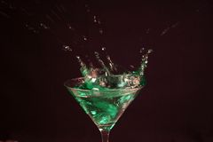 De Cocktail van de plons Stock Afbeeldingen