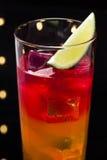 De cocktail van de Tequilazonsopgang Stock Fotografie