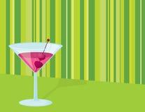 De Cocktail van de valentijnskaart Stock Foto