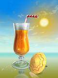 De cocktail van de zomer Royalty-vrije Stock Afbeelding