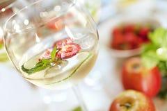 De cocktail van de zomer royalty-vrije stock foto