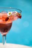 De Cocktail van de Zomer van de aardbei stock foto