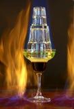 De Cocktail van Flamer Royalty-vrije Stock Fotografie