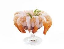 De cocktail van garnalen Stock Fotografie