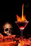 De cocktail van Halloween stock fotografie