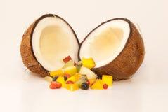 De cocktail van het fruit Stock Afbeelding