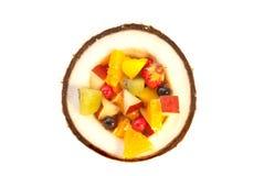 De cocktail van het fruit stock foto