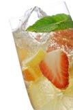 De cocktail van het fruit stock foto's