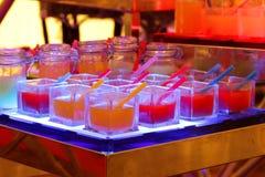 De cocktail van het fruit Stock Afbeeldingen