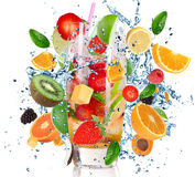 De Cocktail van het fruit Royalty-vrije Stock Foto