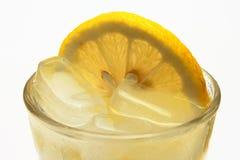 De cocktail van het ijs en van de citroen Royalty-vrije Stock Fotografie